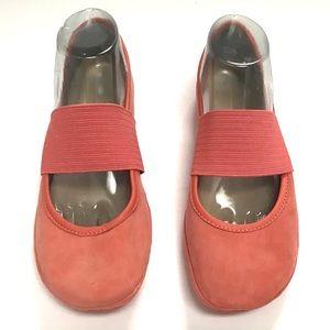 EUC Pink Camper Right Nina Ballet Flats Size 40